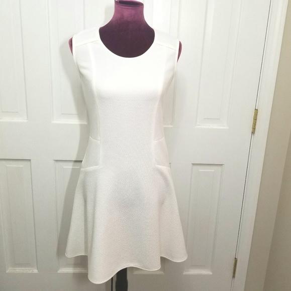 Nell Dresses & Skirts - NELL Waffle Pattern Skater Dress